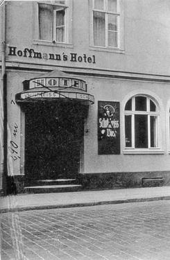Hoffmann´s Hotel 1936